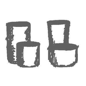 vasi in altri materiali